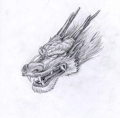Les 25 meilleures id es de la cat gorie dragon chinois sur pinterest dragon japonais - Dragon japonais dessin ...