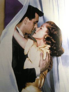 Rock Hudson and Lauren Bacall in Written on the Wind 1956.