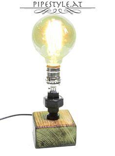 Fresh Details zu Edle Tischlampe Edison Rohrlampe Retro Wasserrohr Vintage Industrial Lampe