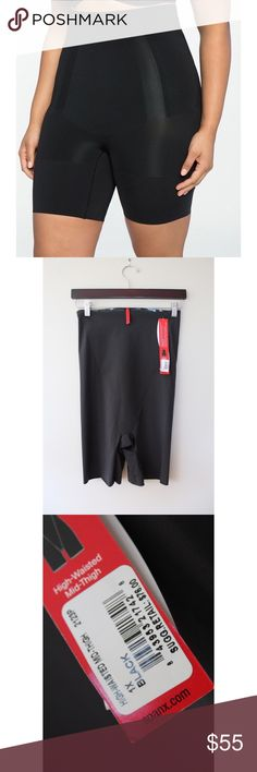 • NWT SPANX HIG WAISTED MID THIGH SHORTS • Everybody, no matter what size, uses SPANX. Grab this today as an essential in your closet! BNWT and in perfect condition. 1X which is a size larger than XL. Refer to size hart posted for specifics! SPANX Intimates & Sleepwear Shapewear