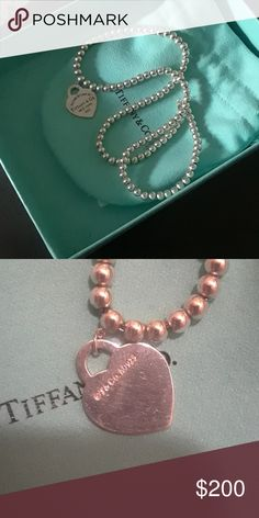 16 inch bead necklace Have reciept to verify Tiffany & Co. Jewelry Necklaces