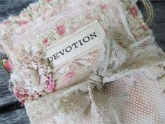 ~A Tattered Pocket Organiser Wall Hanger from the Attic ~ - YouTube