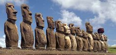 The Statues of Easter Island  A riddle of engineering hasn't stopped archaeologists from debating how the giant carved stones were transported around the island.