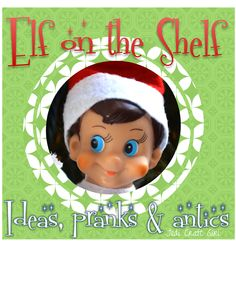 Jedi Craft Girl: Elf on the Shelf Ideas