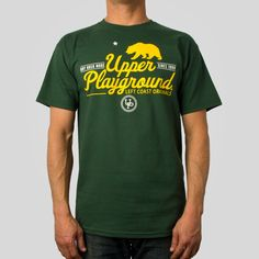 Bay Area Made Tee in Forest - Upper Playground