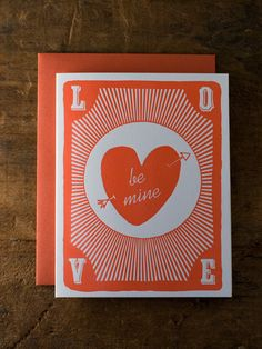 Be Mine playing card