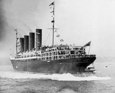 Lusitania full astern ! This is how my grandfather's family came to America.