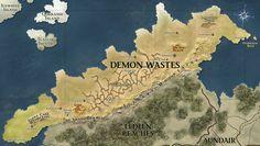 5125 Khorvaire Eberron Dungeons U0026 Dragons Map Print Art Silk Wall Poster