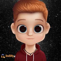 Animated Man, Cameron Boyce, Character Ideas, Big Eyes, Round Sunglasses, Animation, Friends, Girl Cartoon, Bonito