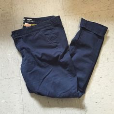 Navy pants Navy straight leg pants from target. Size 15 but fit like a 10 Mossimo Supply Co Pants Straight Leg