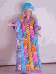 Groovy Barbie caftan ;)