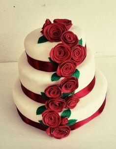 Rozen taart www.taart1818.tk