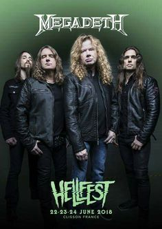 Megadeth are playing Hellfest 2018