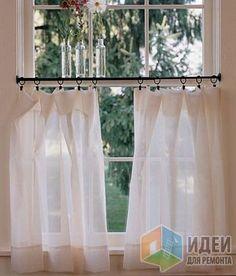 Хелп! Как оформить окно на кухне?