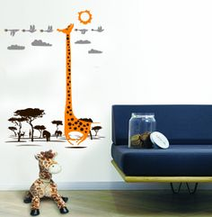 Find This Pin And More On Nursery. Giraffe Wall Decal ...