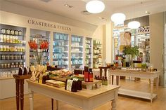 I stand staring at all the beautiful products in Crabtree and Evelyn stores.