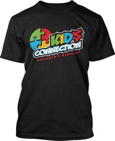 Kids Connection Childrens Ministry Logo Design #159