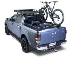 Ford Ranger ready for anything with roof racks and tonneau cover Ford Ranger, Hard Tonneau Cover, Nissan Navara, Toyota Hilux, Car Ford, Tango, Autos