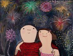 El estilo inconfundible de Eva Armisén - Ahora soy mamá Eva Armisen, Paper Cover, Fireworks, Art For Kids, I Am Awesome, Feelings, Abstract, Disney Characters, Drawings