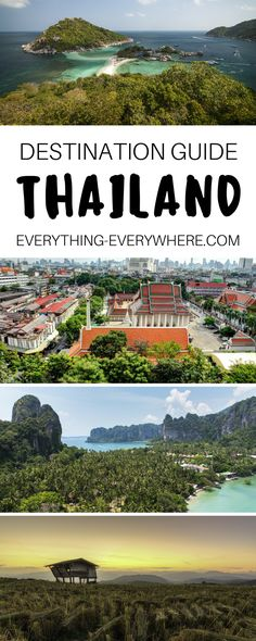 A complete guide to travel in Thailand including top destinations and things to do in Bangkok, Koh Samui, Ayutthaya, Ban Chiang and more + best Thai food and cuisine and other practical tips for your trip. | Everything Everywhere Travel Blog #Thailand #Travel