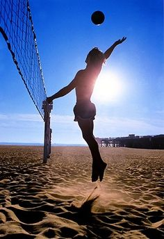 Volleyball. This is amazing.