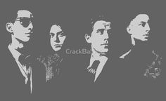 ARCTIC MONKEYS -  Silhouette Band by CrackBabies