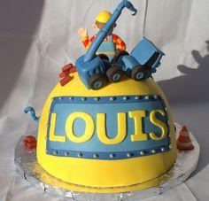 Bob the Builder Birthday Cake Back (My Sweet Austin) Bob The Builder Cake, Restaurant Kitchen, Cupcake Cakes, Cupcakes, Childrens Party, Party Cakes, Birthday Cakes, Birthday Ideas, Goodies