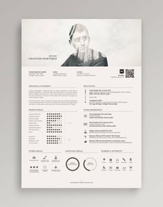 Make an enduring first impression on hirers with a bold and original resume [free templates] – Design School