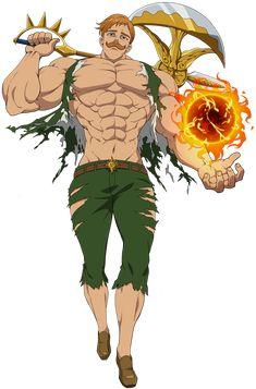 Seven Deadly Sins Anime, 7 Deadly Sins, Seven Deadly Sins Tattoo, Character Drawing, Character Concept, Character Design, Otaku Anime, Manga Anime, Fan Art Anime