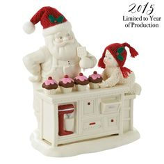 Snowbabies Christmas Memories - Baking In The Kitchen With Santa later in 2015