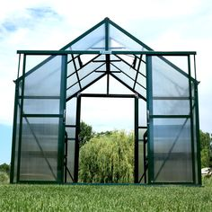 The Grandio Ascent Greenhouse with walk through access and added ventilation for warm climates and summer gardening. 55 Gallon Plastic Drum, Plastic Drums, Greenhouse Ventilation, Ventilation System, Water Barrel, Rain Barrel, Elite Greenhouses, Seamless Gutters, Garden Compost