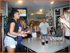 Beer pong!:)