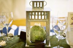 artichoke candle holder - DROOL!!