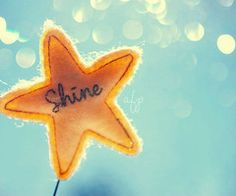 SHINE your light and let the whole world see!!