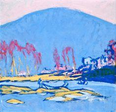 "bofransson: "" ELLEN THESLEFF Italian Landscape """