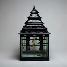 """Natasja van der Meer """"Fish cage"""" 47 x 90 x 47 cm 2011"""