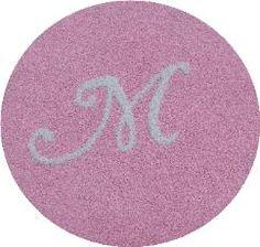 Custom Designer Shag Frieze Area Carpet Rugs with Initial Monogram