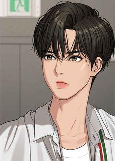 Cool Anime Guys, Handsome Anime Guys, Cute Anime Pics, Suho, Anime Korea, Korean Anime, Anime Boy Sketch, Anime Art Girl, Girl Cartoon Characters