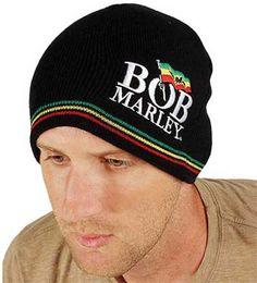 Bob Marley- Flag Logo beanie