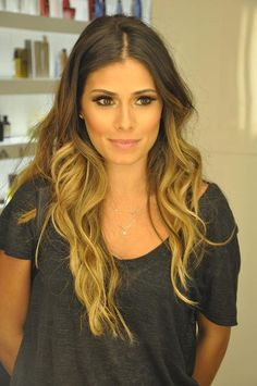 Ombre....this is the color I want!!
