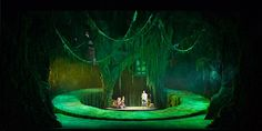 A Dream of Forest. China Central Opera House. Scenic design by Ma Lianqing. 2011