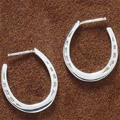 Gift Idea: Silver Shoes Earrings