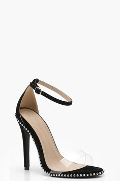 4fbc3110b9 Click here to find out about the Lola Stud and Perspex Heels from Boohoo