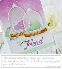 Sentiment Stamping Tip