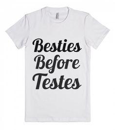 besties before testes
