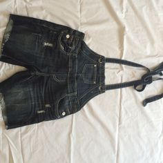"""Selling this """"Jean overalls"""" in my Poshmark closet! My username is: krdefacci. #shopmycloset #poshmark #fashion #shopping #style #forsale #Almost Famous #Denim"""