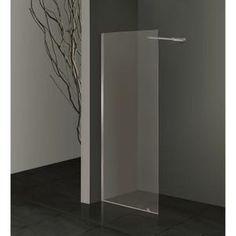 Paroi latérale 90cm - Hauteur 210cm - En verre trempé transparent 6mm - A fixer…