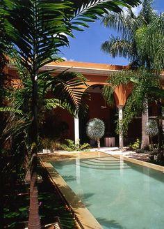 por la hacienda...might as well dream big here!