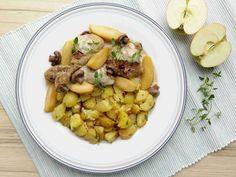 Francouzské kuře se ciderem a jablky // Ochutnejte svět - blog mezinárodní kuchyně