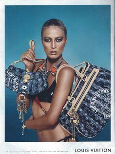 Harper's Bazaar American Edition - Louis Vuitton Ad 2007